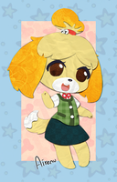 Cutout Isabelle by Airenu-ish