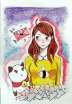 Bee and Puppycat by DouxKaiserCVIII