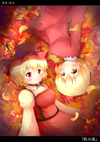 Touhou - The Autumn Wind by KANE-NEKO