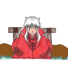 55. Waiting 'Inuyasha' by Gumbah