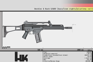 Heckler and Koch G36KV by Gasteiz