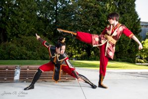Zuko and Azula [Redead Red and Pyrahus] by Detrust