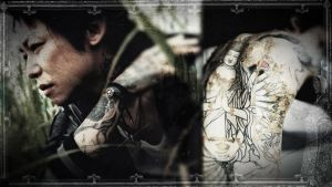 Kyo Tattoo Wallpaper by 55Laney69