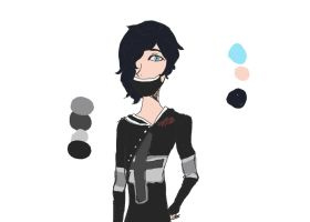 my old design for Zane by firefangkiss