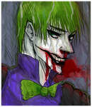 Joker.Batman.Rain. by TimCrock4