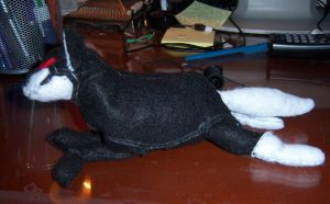 Failed Wolf Plushie by Icoria