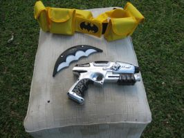 Comic Batman props by batty9999