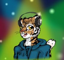 DJ tiger knows how to paarrty by kkcooly