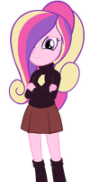 Equestria Girls - Princess Cadence by Beavernator