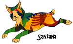 Adopt Santana OPEN by J-Dove