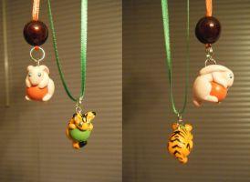 Tiger and Bunny cute charms by aachi-chan