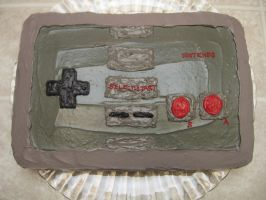 Nintendo Controller Cake 3 by pateachoux