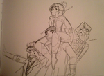 Draw the Squad- Fallout edition by RaptorOFire