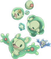 577, 578 and 579 - Solosis Evolutionary Family by Tails19950