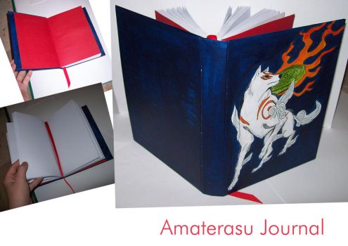 Amaterasu Journal by supersmeg123