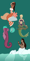 Disabled Mermaids! by themarvelgirl