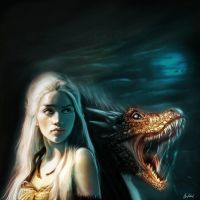 Mother of Dragons by ArtofOkan