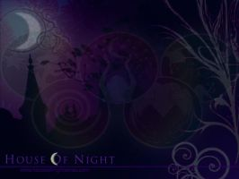 House Of Night Wallpaper by MoriHana