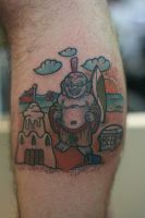 Vasquez Buddah Additions by Lucky-Cat-Tattoo