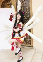 league of legend ahri nine tailed fox by CosPlayJG