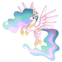 Princess Celestia by Nalesia