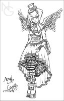 ROSE ANGEL by NURIEL-ART