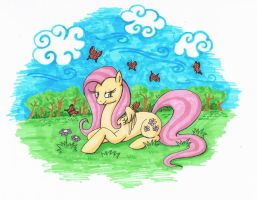 Fluttershy's world by YuzukiMadoko