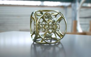 Fractal Cage 3D Print Model by nic022