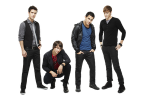 Big Time Rush png by Sara231