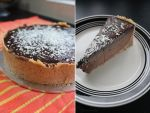 Nutella cheesecake by cakecrumbs