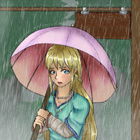 Under the Rain by Vane--Chan