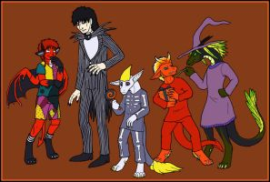 Halloween 2007 by thedevilcat
