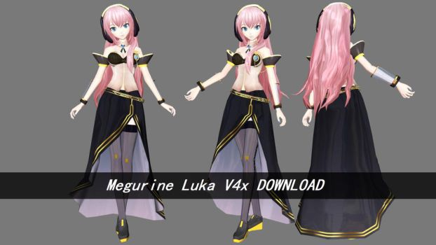 PDF Megurine Luka V4x DOWNLOAD by MegurineSempai