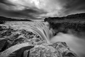 Dettifoss, Iceland by Nightline