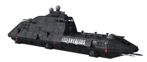 Enyalius Class Frigate png by SirDoctorLee