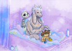 Family Bath Time by Pipann