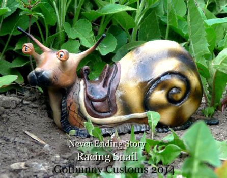Never Ending Story Racing Snail by gotbunny
