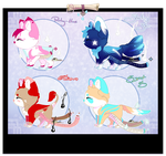 [CLOSED] Sloxou Batch Auction (OFFER) by Miru-Adoptables