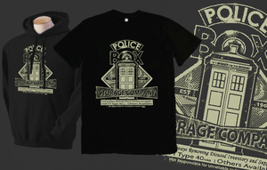 Police Box Storage Company Shirt by Magmakensuke