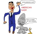 american dad stan and rogar by MaccaMacca91