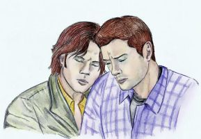 Sam and Dean by KanaGo