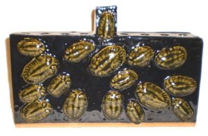 Trilobite Menorah by aberrantceramics