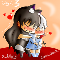 Day02-Doki Doki CUDDLING somewhere by tennison-p
