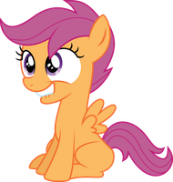 Scootaloo's Lip Bite by DeadParrot22