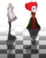 Alice:Curiouser and Curiouser by Caleb-Brown