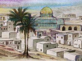 Quds Al-Sharif by borhan2009