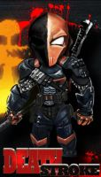 Death stroke 00000 by eon-graphics