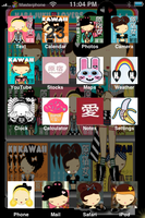 harajuku lovers iphone theme by sushi-geisha