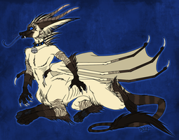 Cataragon Kace Taur by kcravenyote