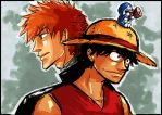 Request: Luffy, Ichigo, Doraemon. by picselly